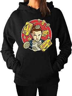 Women's Stranger Waffles Hoodie Heavy Blend Sweatshirt