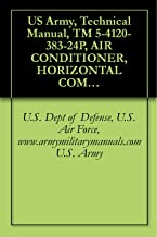 US Army, Technical Manual, TM 5-4120-383-24P, AIR CONDITIONER, HORIZONTAL COMPACT; 9,000 BTU/HR, 208 V, 3 PHASE, 50/60 HZ, MODEL F9000H-38S, (NSN 4120-01-164-7420), military manuals