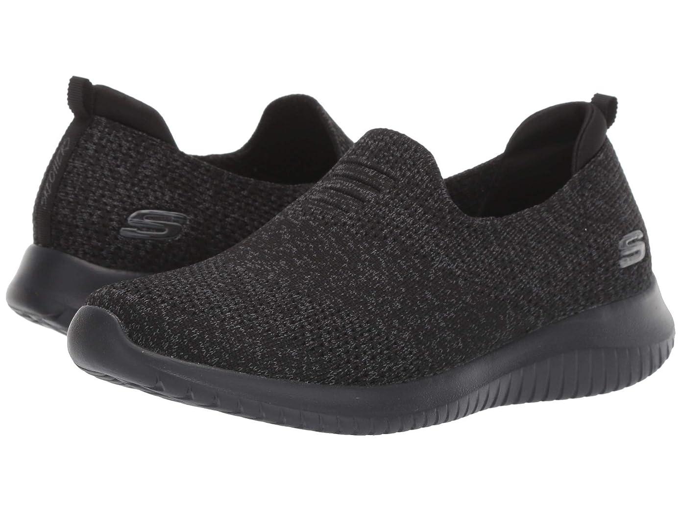 お辞書エンコミウムレディーススニーカー?ウォーキングシューズ?靴 Ultra Flex - Harmonious Black 2 8.5 (25.5cm) B [並行輸入品]