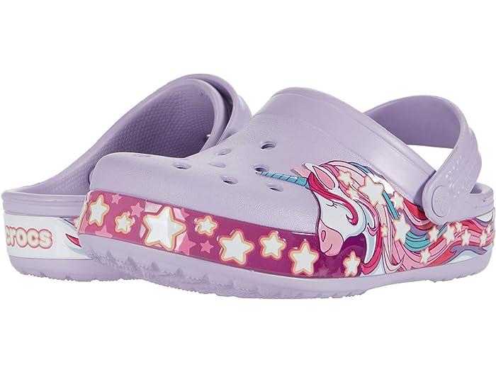 Crocs Kids Fun Lab Unicorn Band Clog Sandal Pink Available Size C8