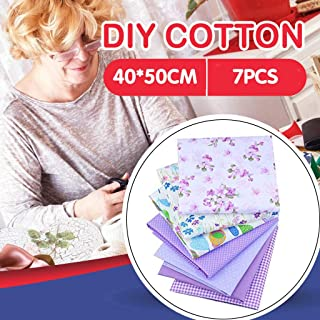 Home,Garden,Home Diy,Cotton Craft Fabric Bundle Patchwork Squares Quilting Sewing Patchwork Diy 7pcs Handmade Diy Cotton Cotton Small Floral Fabric 40cm*50cm