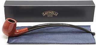 Savinelli Italian Tobacco Smoking Pipes, Churchwarden Smooth 601