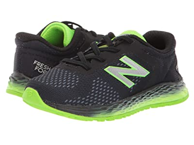 New Balance Kids Arishi v2 (Infant/Toddler) (Black/RGB Green) Boys Shoes