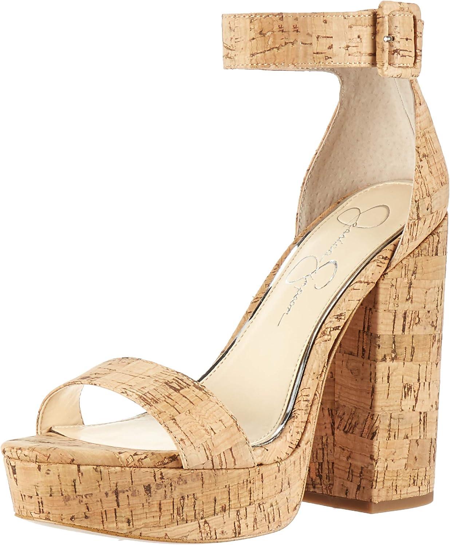 Jessica Simpson Woherrar CAIYA Sandal, Natural, 5.5 5.5 5.5 M USA  kunder först