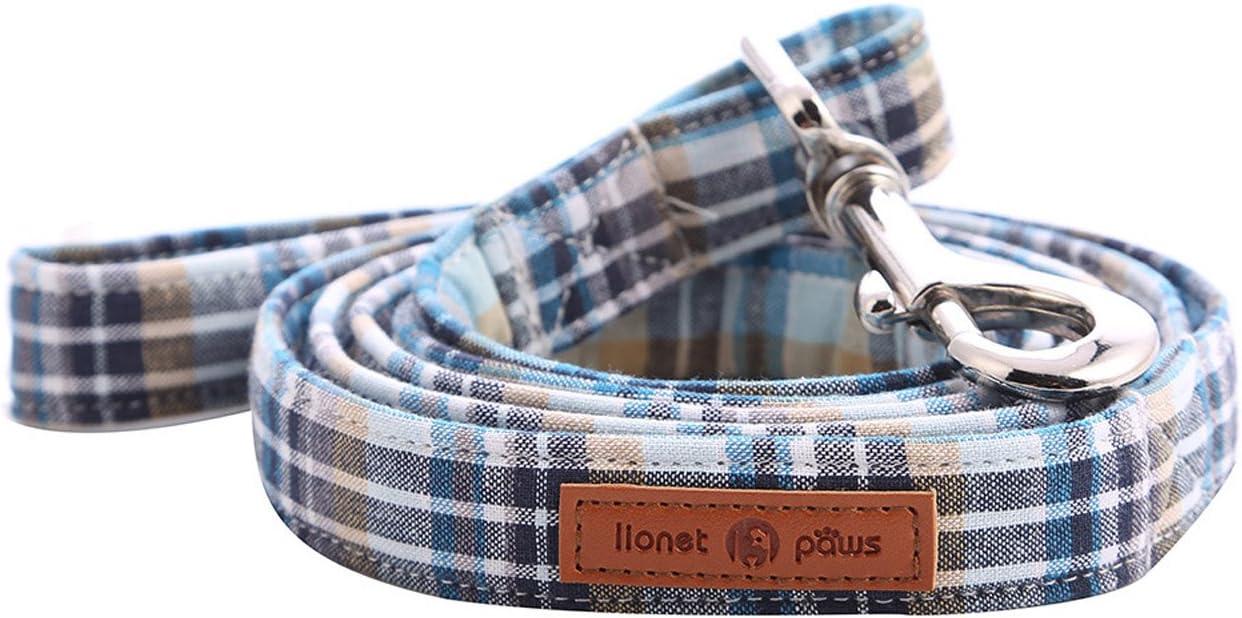 Lionet Paws SALENEW very popular! Complete Free Shipping Dog Leash Handmade Walkin Grid Durable