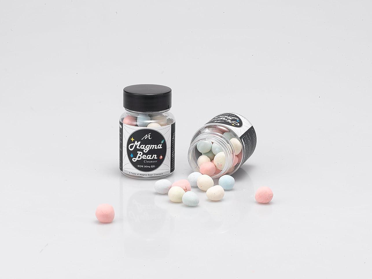 バーチャル手書き凍るNMC マグマ ビーン ソリッド ソープ/Magma Bean Solid Soap (34g) [並行輸入品]