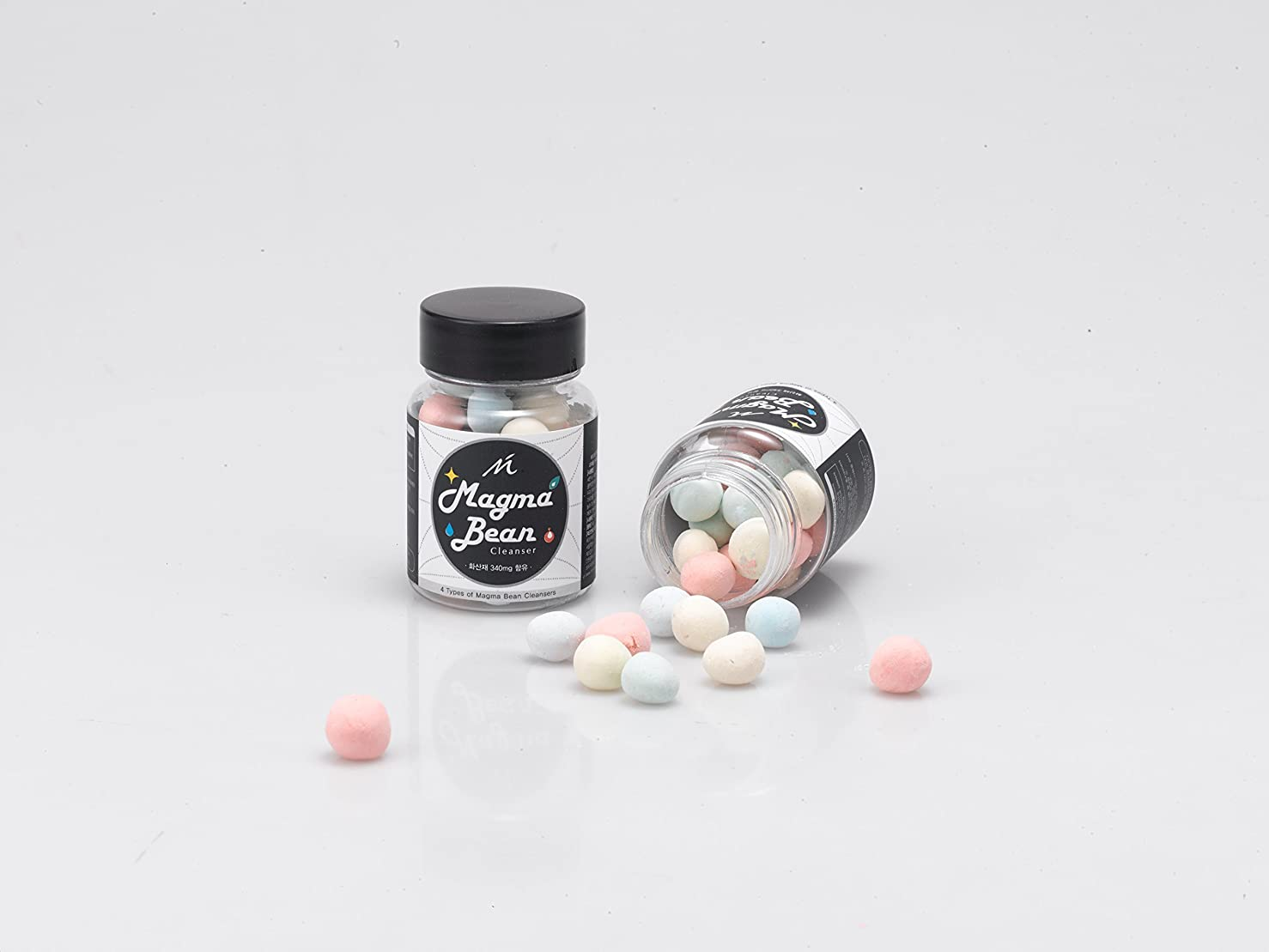 原因スイス人フィヨルドNMC マグマ ビーン ソリッド ソープ/Magma Bean Solid Soap (34g) [並行輸入品]