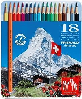 Lápis Aquarelável Caran D'Ache Prismalo 40 Cores, Caran D'Ache, 999340, 40 Cores