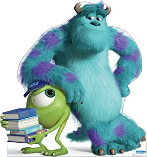 Advanced Graphics Mike & Sulley Life Size Cardboard Cutout Standup - Disney Pixar's Monsters University