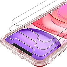 Syncwire Vetro Temperato iPhone XR/11 3 Pezzi Pellicola Protettiva Vetrino Salvaschermo per Apple XR iPhone 11 [3D Touch] [Alta Trasparente] [Senza Bolle] [HD] [9H] [Ultra Resistente]