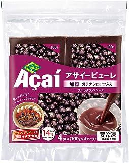 フルッタフルッタ アサイーピューレ 加糖 400g×3袋 fruta fruta acai pure