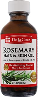 De La Cruz Oil Of Rosemary, Aceite De Romero, 3-pack Of 2 Fo Bottles
