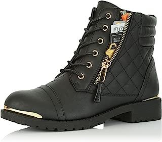 combat boots metal