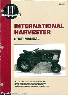 IH-50 International Harvester Cub 154 184 185 Lo-Boy Farmall Cub Tractor Workshop Manual