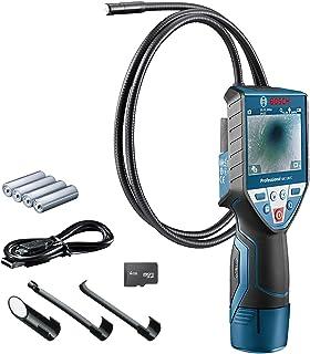 """Bosch Professional inspectiecamera GIC 120 C (kabellengte: 120 cm, display: 3,5"""", 4x AA batterij, in kartonnen doos)"""