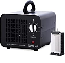Alpine Air Commercial Ozone Generator – 4,000 mg/h   Professional O3 Air Purifier, Ozonator and Ionizer   Heavy Duty Air C...
