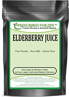 Elderberry - Natural Fruit Juice Powder, 2 kg