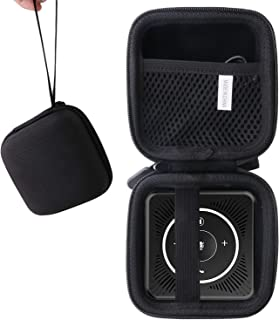 for USBスピーカーフォン eMeet 会議用マイクスピーカー 専用保護 キャリングケース 収納ケース -waiyu JP