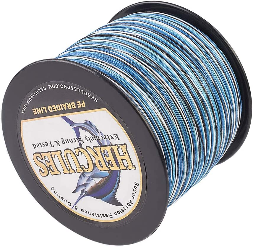 HERCULES PE Braided Fishing Spring new work one after another Free shipping Line 2187yards 2000m 200lb to 10lb