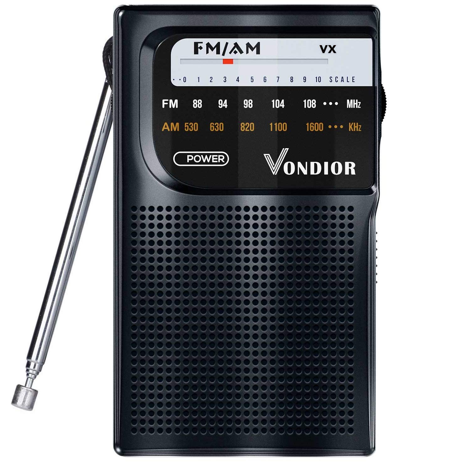 Radio Portable Reception Transistor Headphone