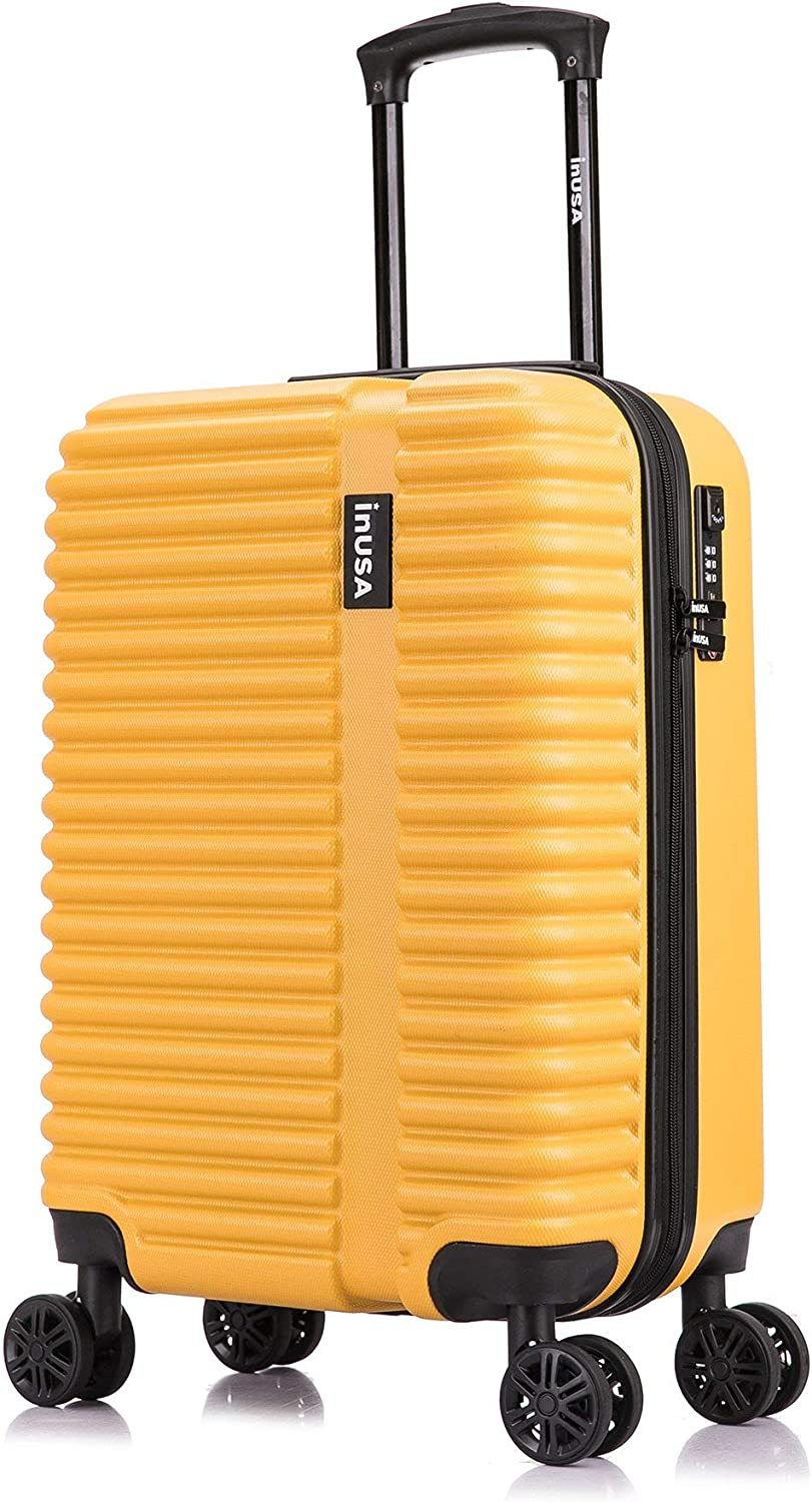 InUSA Award Hardside 20 Inch Regular store Carry On with Spinner Luggage H Ergonomic