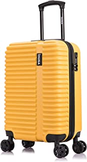 Best mustard yellow suitcase Reviews