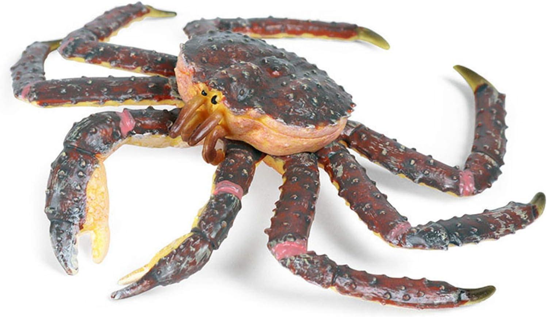 JOKFEICE Animal Washington Mall Figures OFFicial store Realistic Plastic Science Crab King Proj