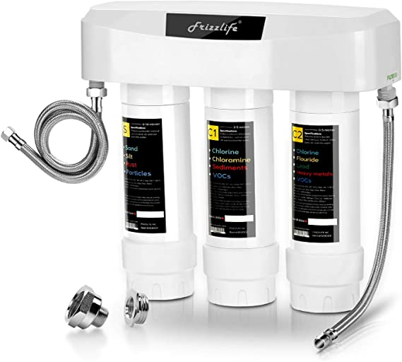 Frizzlife Under Sink Water Filter System SK99