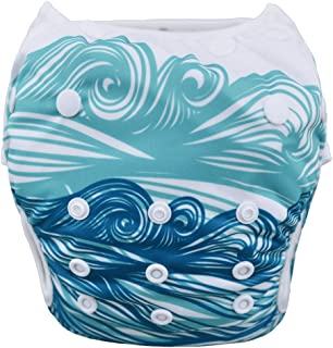 babygoal Reusable Swim Diaper, Washable Swimsuits for Babies 0-2 Years, Swimming Lessons SWD44