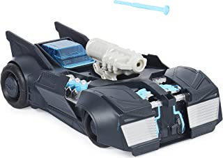 DC Comics Batman, Tech Defender Batmobile, Transforming Vehicle with Blaster Launcher, Kids Toys for Boys Ages 4 and Up