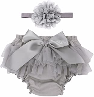 DREAM 0-4 YEARS BABY GIRLSPRING  FLORAL SPANISH HIGH WAIST BLOOMERS FRONT BOW