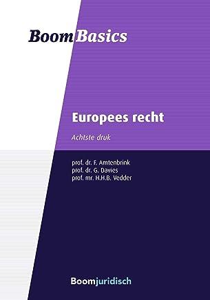 Europees recht (Boom Basics)