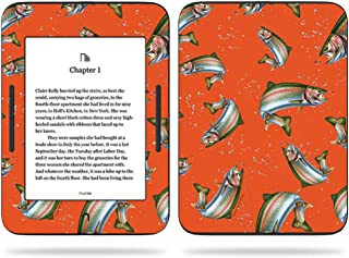 MightySkins Skin Compatible with Barnes & Noble Nook GlowLight 3 (2017) - Trout Collage | Protective, Durable, and Unique Vinyl Decal wrap Cover | Easy to Apply, Remove | Made in The USA