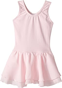 Classic Double Layer Skirt Tank Dress (Toddler/Little Kids/Big Kids)