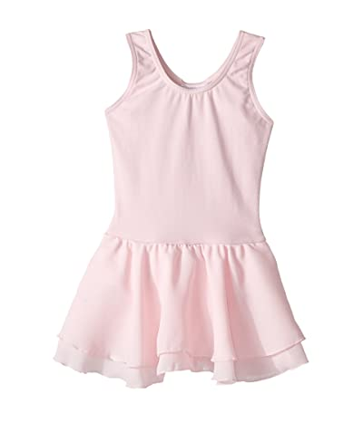 Capezio Kids Classic Double Layer Skirt Tank Dress (Toddler/Little Kids/Big Kids) (Pink) Girl