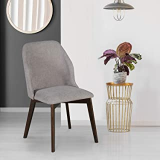 @home By Nilkamal Lawrence Arm Chair (Grey), Standard (FIDCLAWRENCEDCGRY)