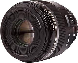 Canon EF-S 60mm f/2.8 Macro USM - Objetivo para Canon (Distancia Focal Fija 60mm Apertura f/2.8-32 diámetro: 52mm) Negro