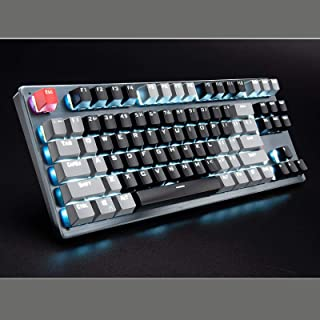 ZHEBEI 87-key bluetooth mechanical keyboard wired wireless bluetooth three-mode tablet phone computer gaming keyboard