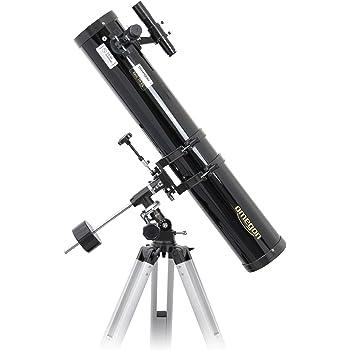 Omegon Télescope N 114/900 EQ-1, réflecteur d'une Ouverture de 114 mm et d'une Distance focale de 900 mm