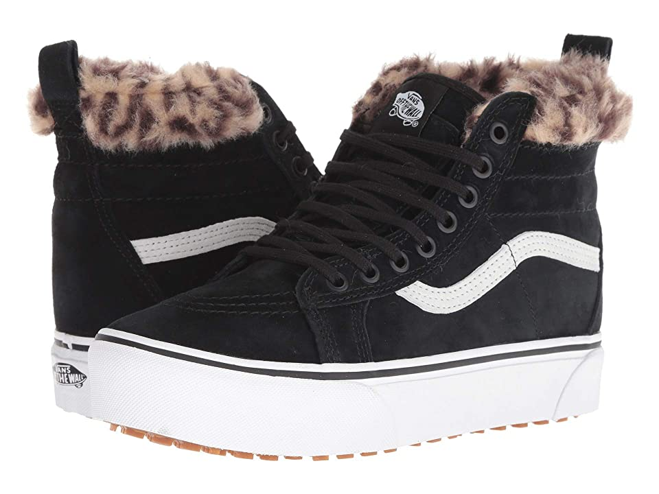 Vans SK8-Hi Platform MTE ((MTE) Black/Leopard Fur) Shoes