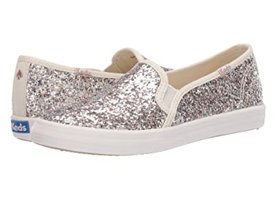 Keds x kate spade new york Kids Double Decker (Little Kid/Big Kid) (Multi Metallic Glitter) Girl
