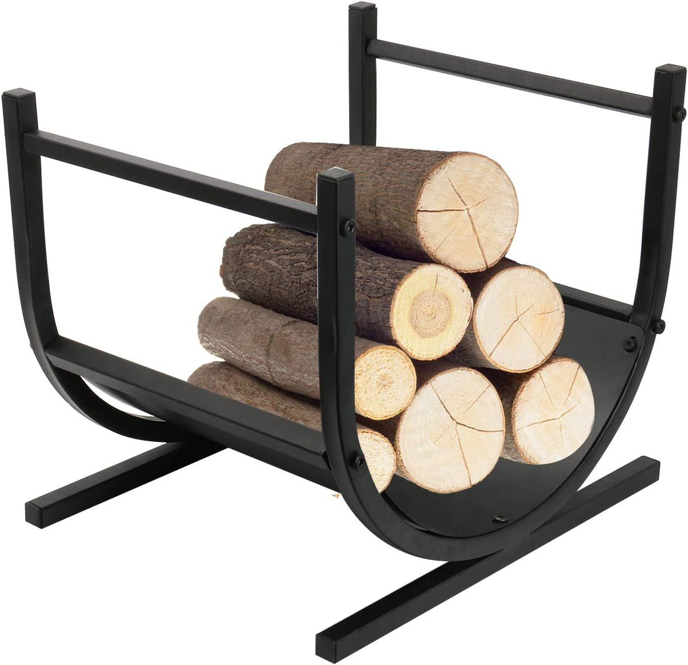 Finderomend Firewood Rack Year-end gift 17 Inch Heavy Duty Small Ca Decorative 5 ☆ very popular