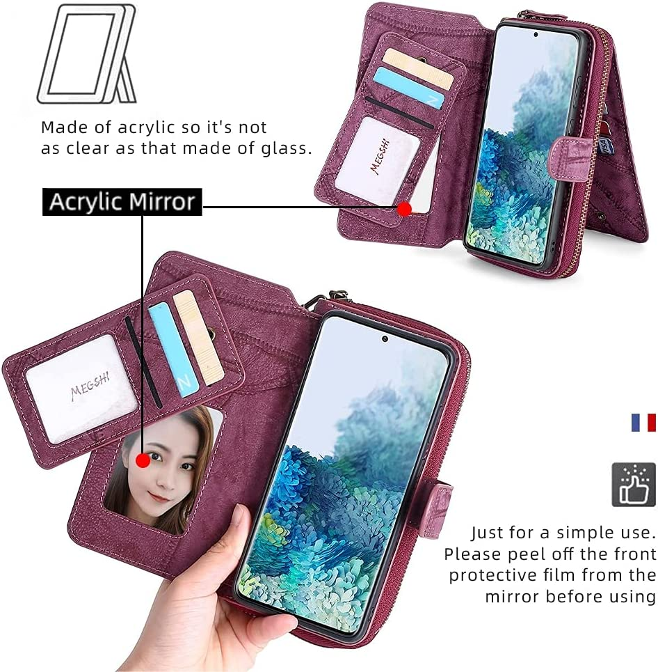 JiuRui Holster Accessories for iPhone 13/13 Pro/ 13 Pro Max, Handbag Wallet Leather Phone Case for iPhone 13 13Pro 13ProMax 13 Mini (Color : Black, Material : iPhone 13 ProMax)