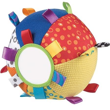 Playgro Ma Première Balle en Peluche, Jouet d'Activités, À partir de 3 Mois, Loopy Loops, Multicolore, 40079