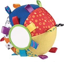 Playgro 0180271 Loopy Loops Ball for Baby Infant Toddler Children, Playgro is Encouraging Imagination with STEM/STEM for a Bright Future - Great Start for a World of Learning