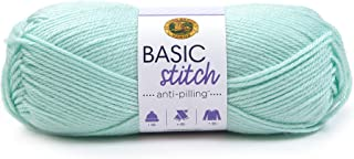 Lion Brand Yarn 202-105 Basic Stitch Anti Pilling Yarn, Frost