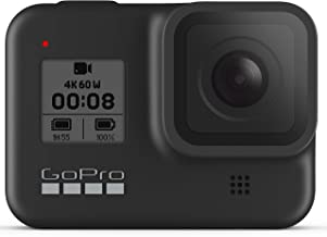 GoPro HERO8 Black Waterproof Action Camera with Touch Screen 4K Ultra HD Video 12MP Photos 1080p Live with Accessory Bundl...