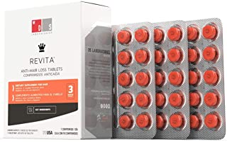 DS Laboratories Revita tablets tratamiento anticaída para hombre y mujer. 3 meses de tratamiento. 90 tabletas