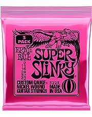 【正規品】 2019年製 ERNIE BALL 3223 ギター弦 (09-42) SUPER SLINKY 3Set Pack