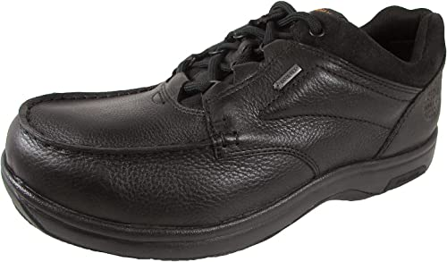 Dunham Men's Exeter Low Casual Oxford, Talla  17 Width  D Color  negro